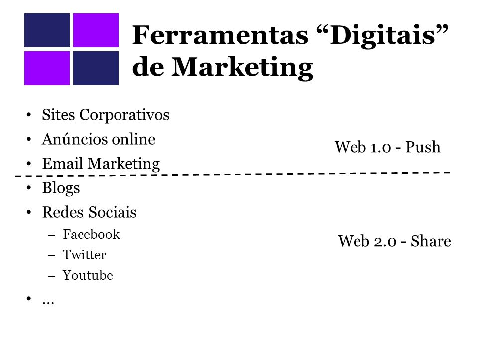 Ferramentas Digitais de Marketing