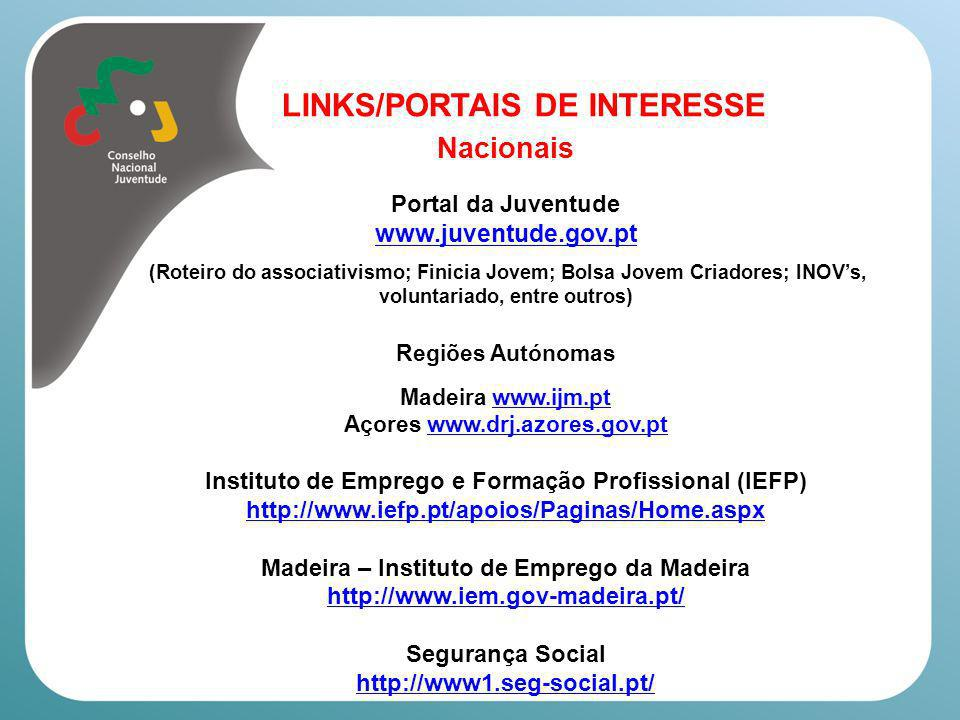 Nacionais LINKS/PORTAIS DE INTERESSE