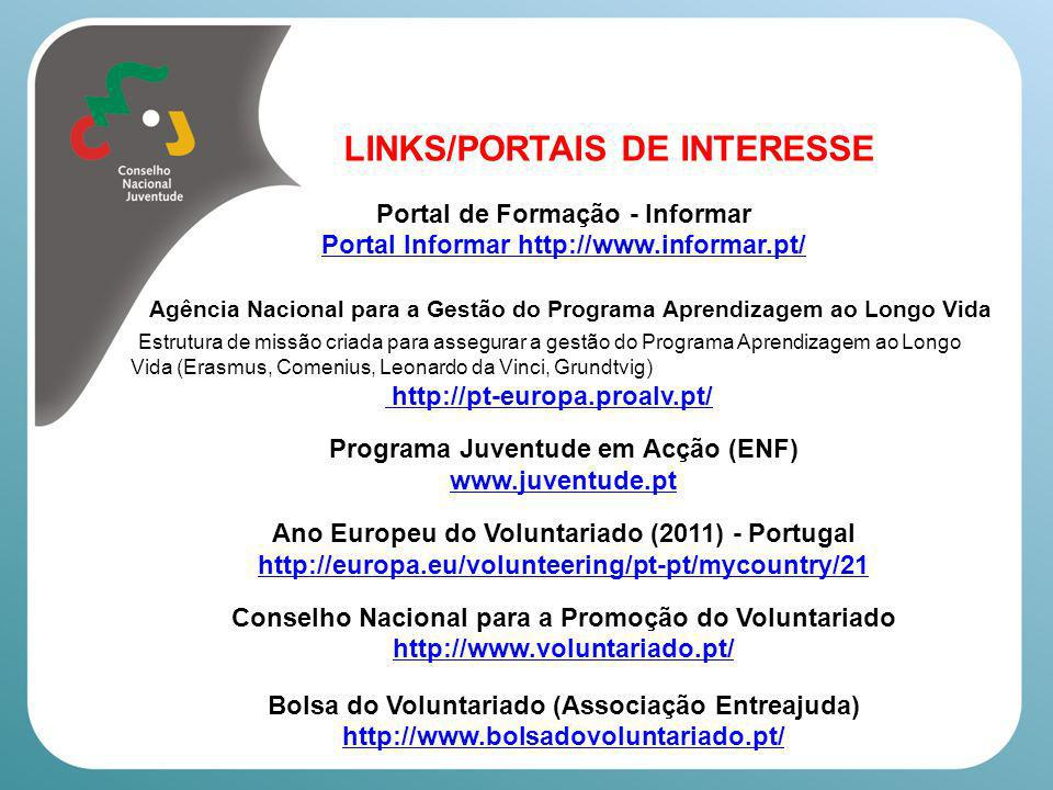 LINKS/PORTAIS DE INTERESSE