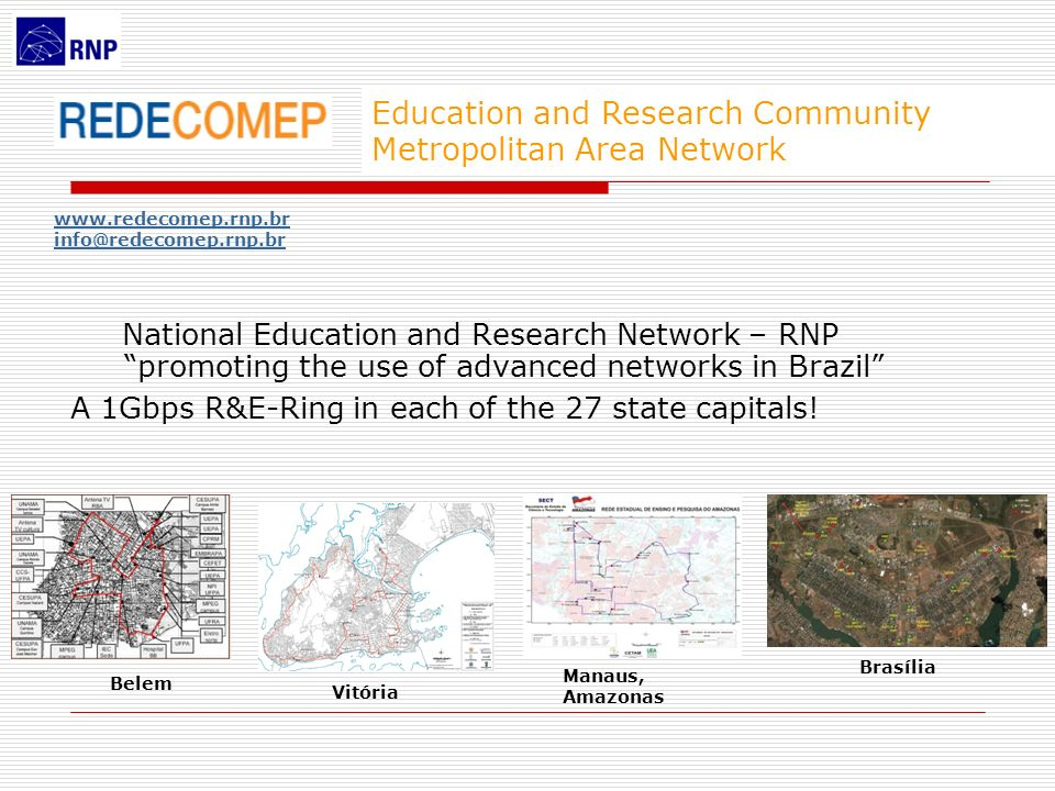 Education and Research Community Metropolitan Area Network