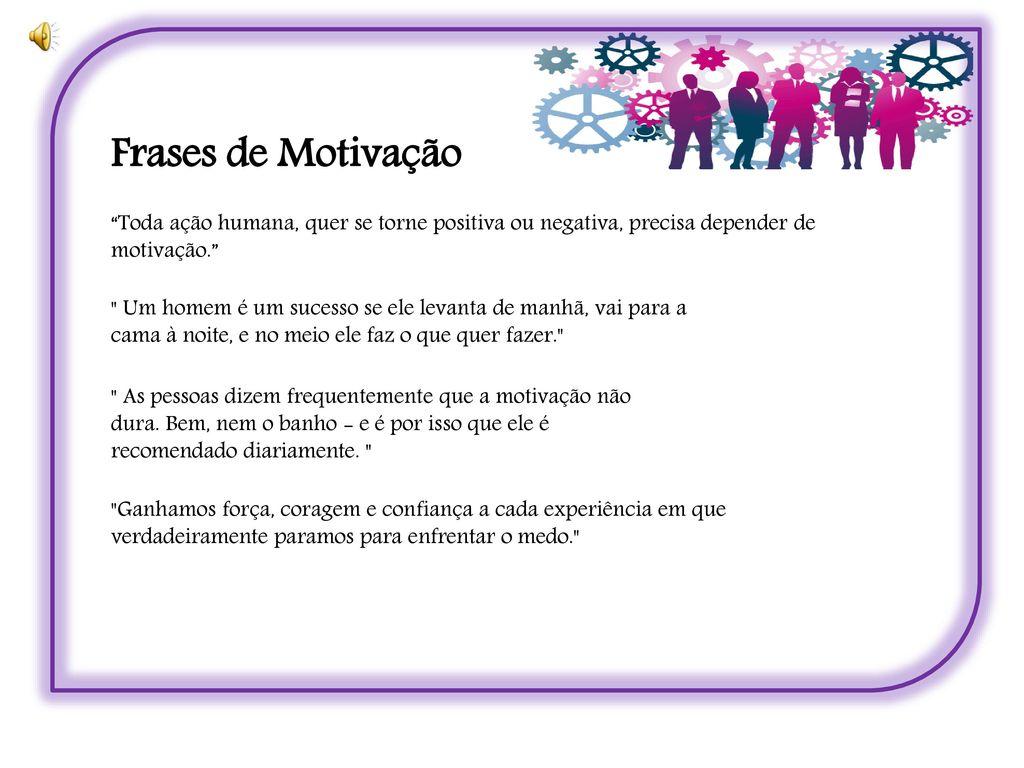 Motivação E Trabalho Em Equipe Ppt Carregar