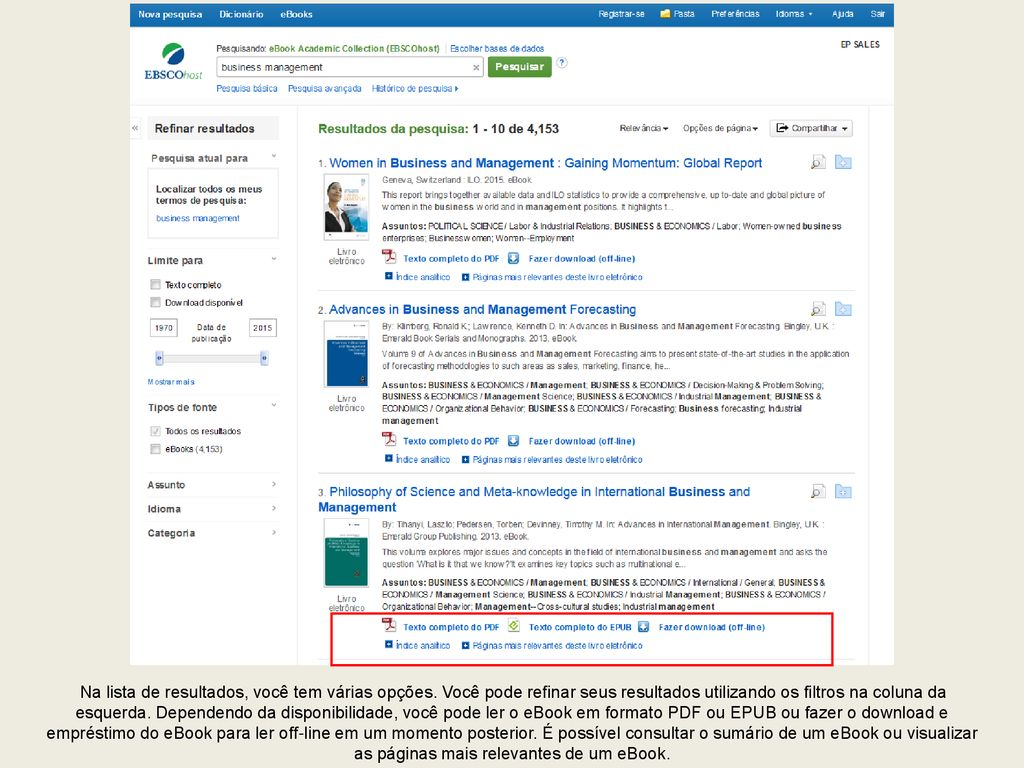 Pesquisando no ebscohost ppt carregar 6 from fandeluxe Choice Image