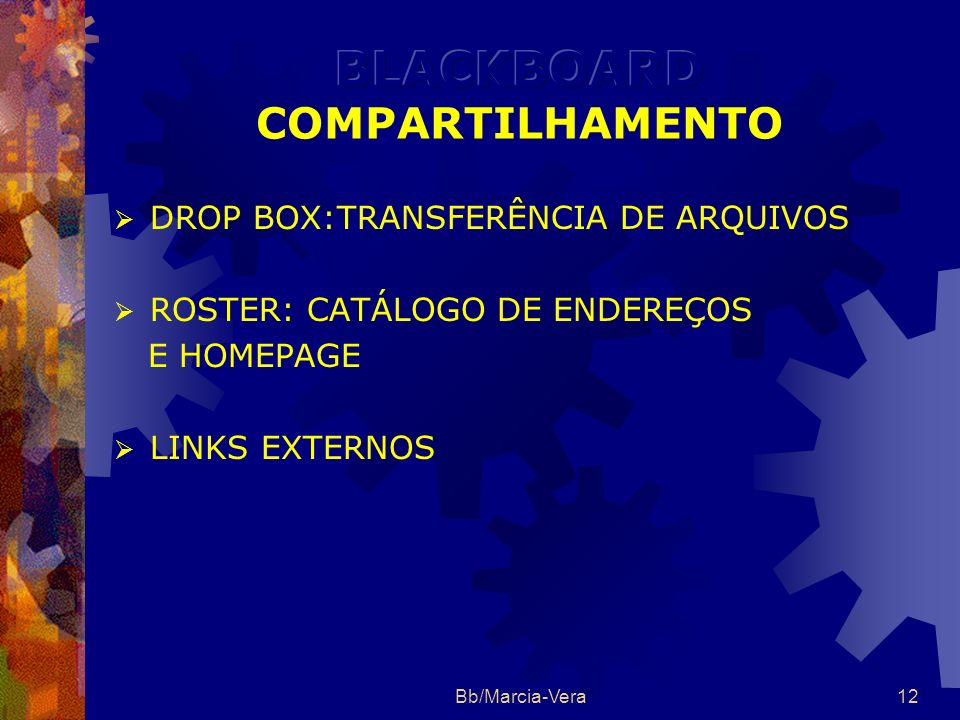 BLACKBOARD COMPARTILHAMENTO