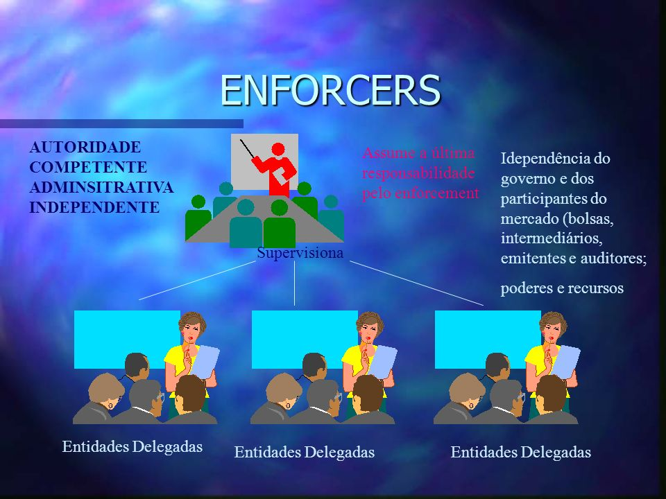 ENFORCERS AUTORIDADE COMPETENTE ADMINSITRATIVA INDEPENDENTE