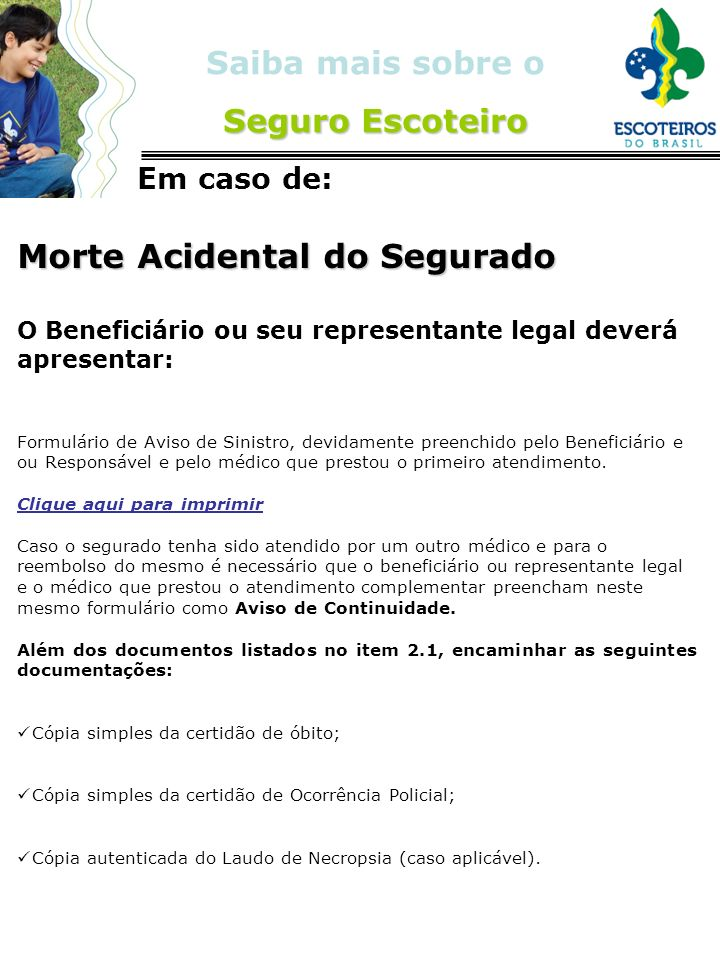 Morte Acidental do Segurado