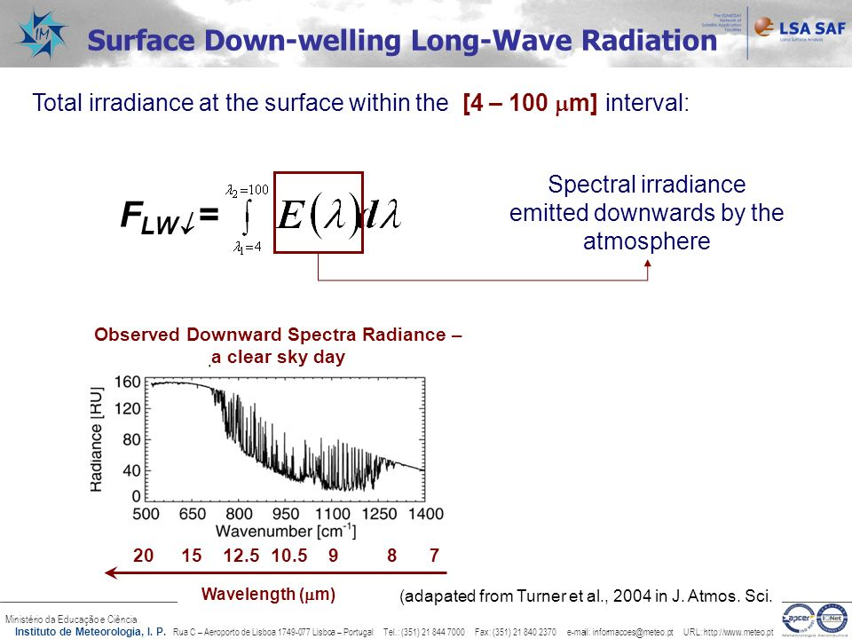 FLW = Surface Down-welling Long-Wave Radiation