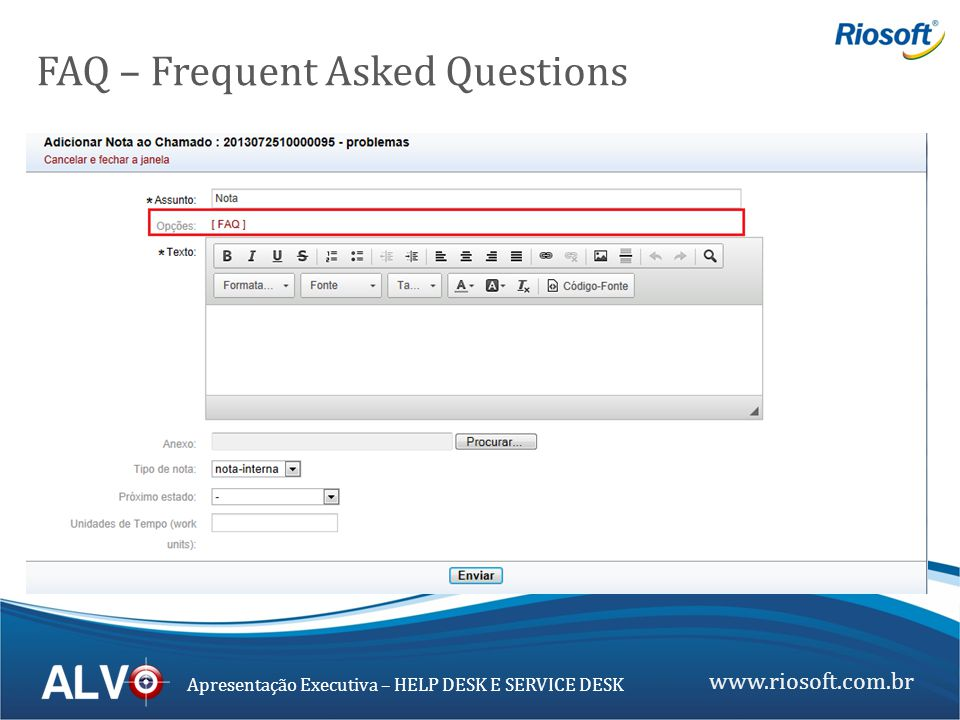 FAQ – Frequent Asked Questions