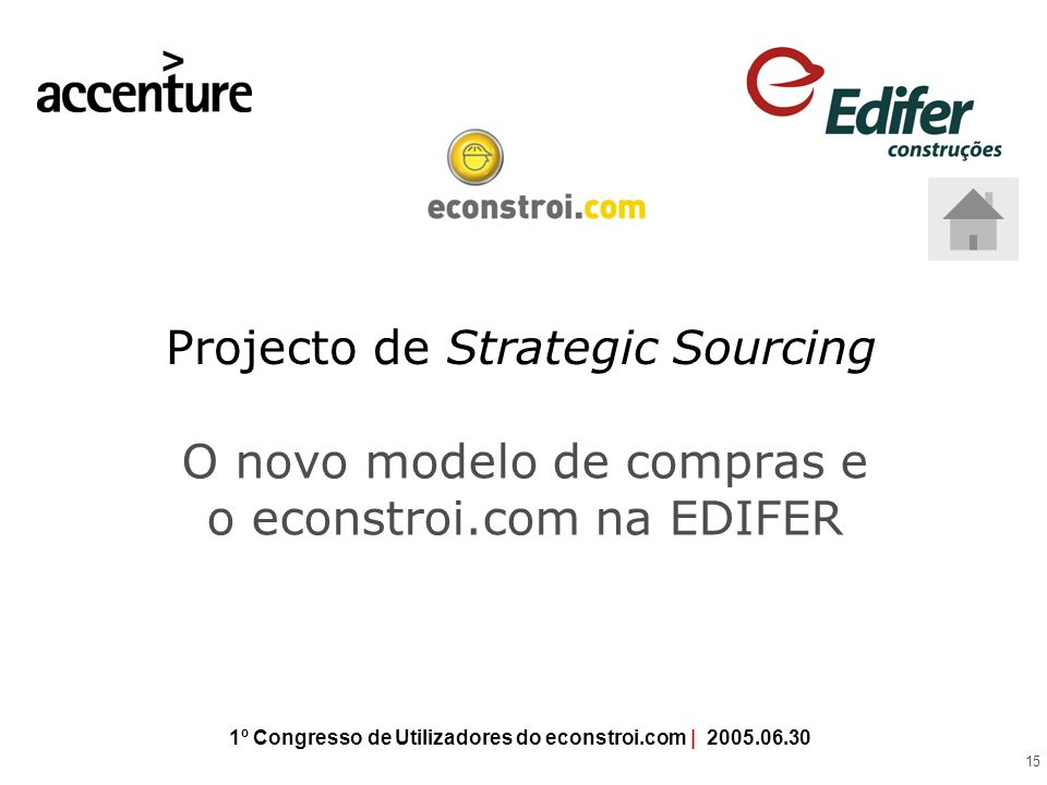 Projecto de Strategic Sourcing