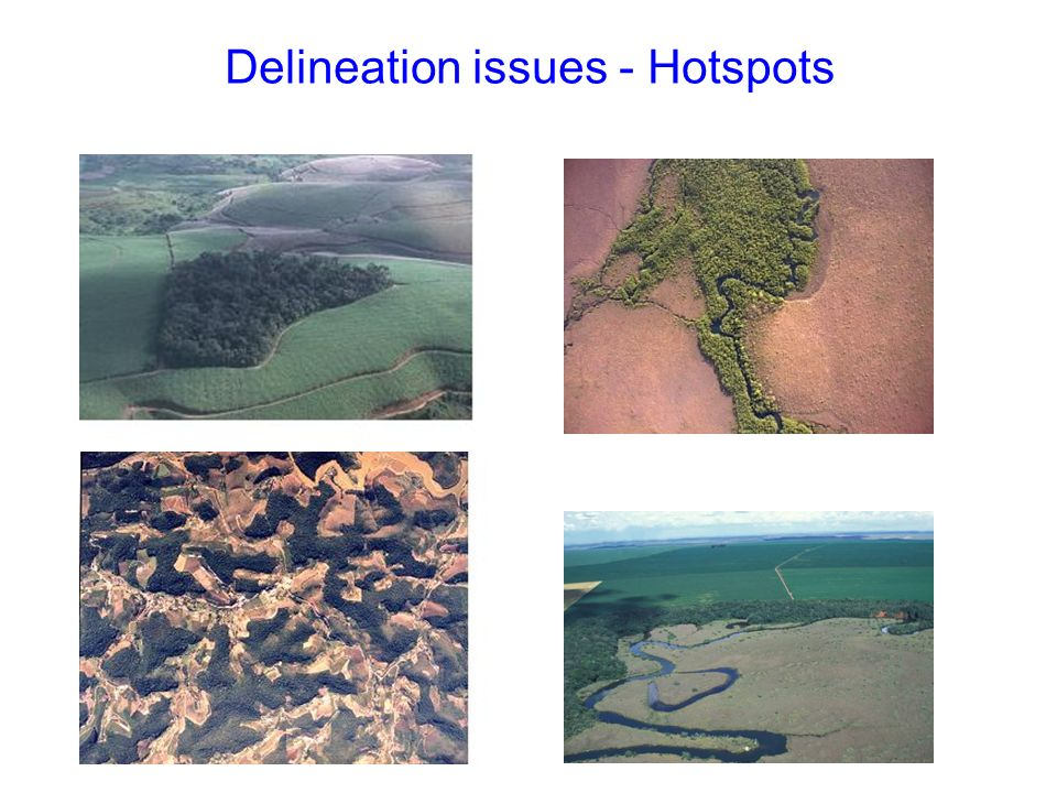 Delineation issues - Hotspots