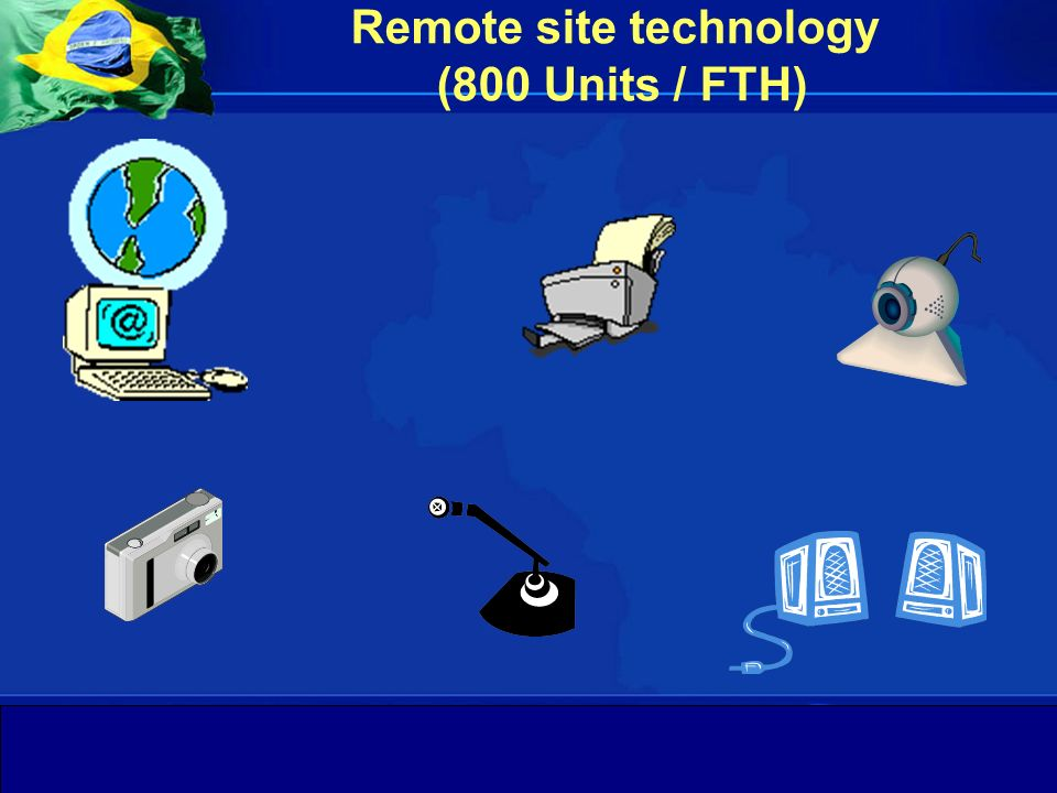 Remote site technology (800 Units / FTH)