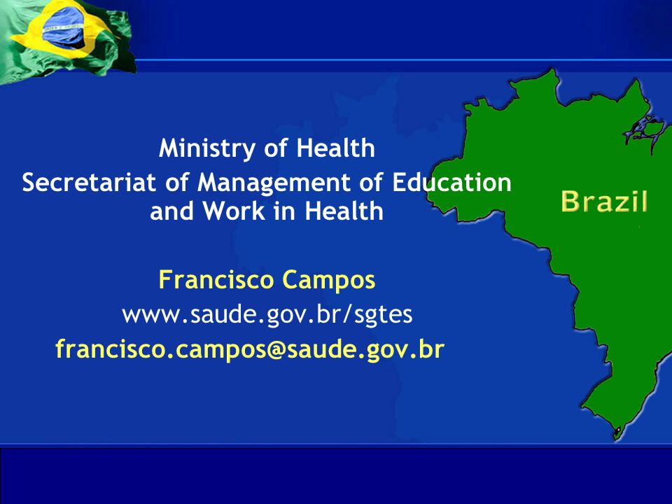 Secretariat of Management of Education and Work in Health