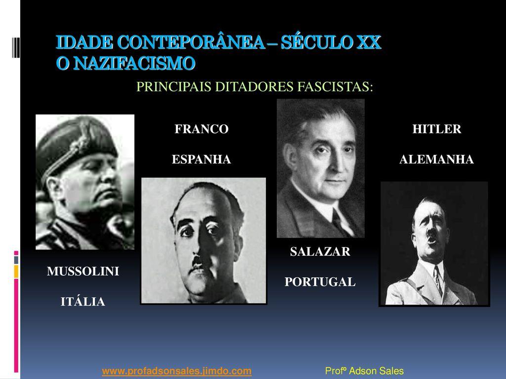 Resultado de imagem para Hitler, Mussolini, Franco, Salazar
