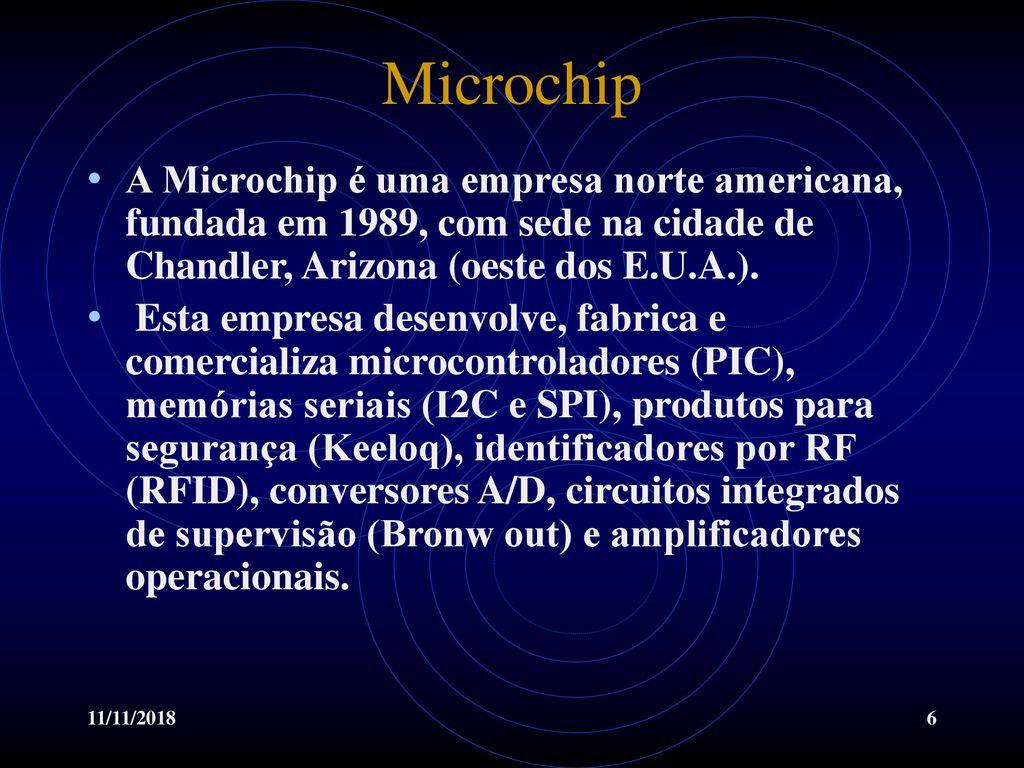 Microprocessadores e Microcontroladores - ppt carregar
