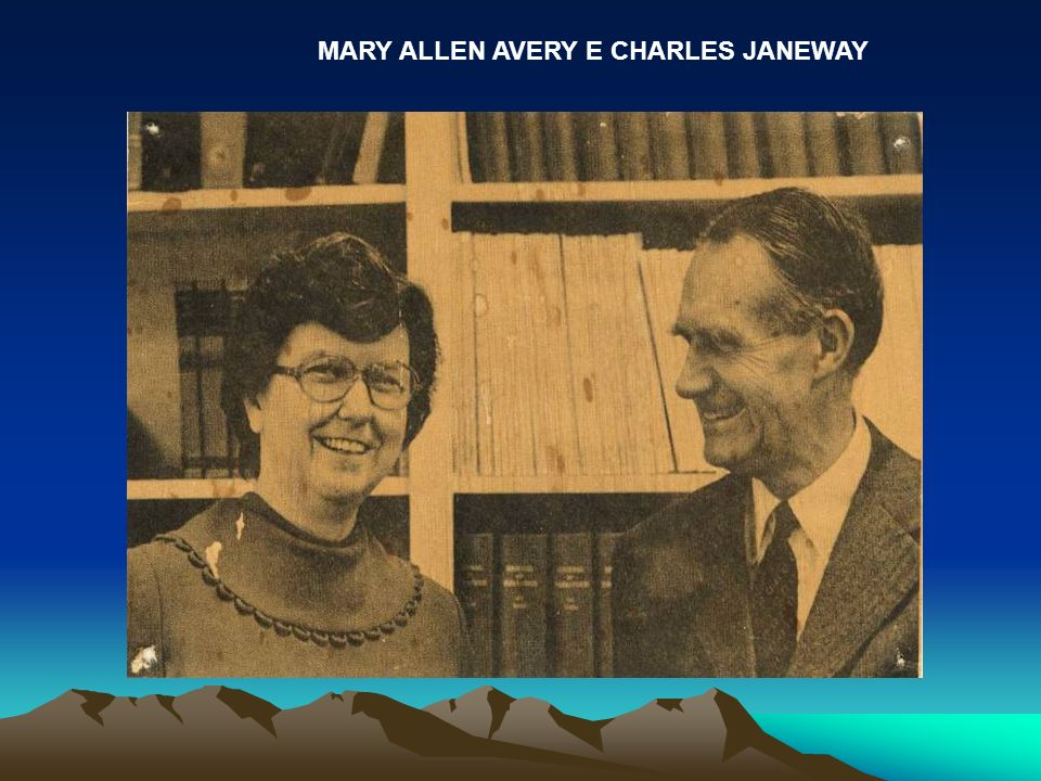 MARY ALLEN AVERY E CHARLES JANEWAY