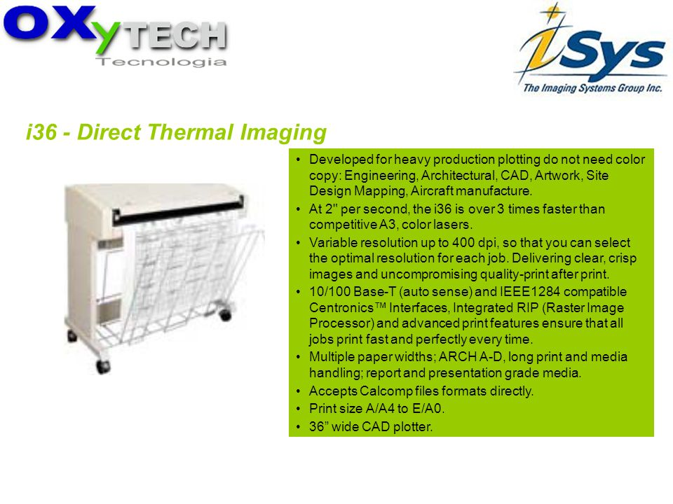 i36 - Direct Thermal Imaging