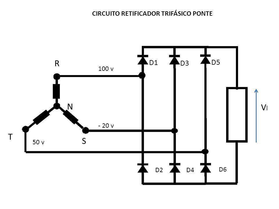 Circuito Retificador : Circuito retificador trifÁsico ponte ppt carregar