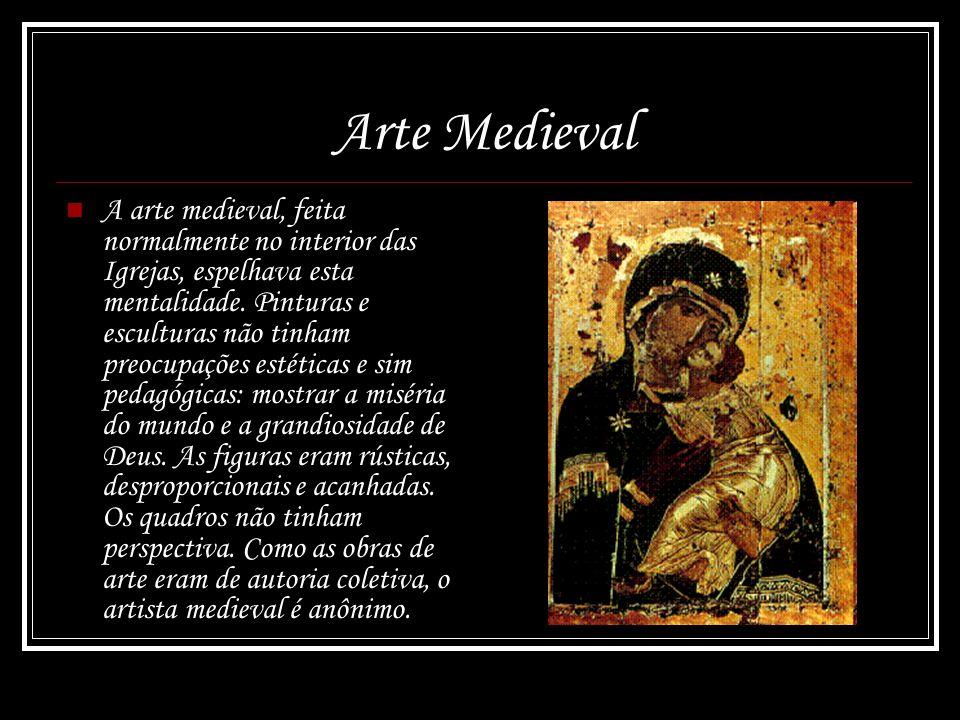 Pensamento Medieval A cultura medieval se caracterizava pela ... 837a4c24c1601