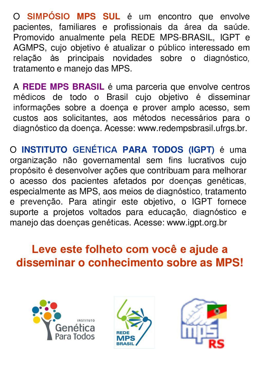 ATO DE MOBILIZAÇÃO PELAS MUCOPOLISSACARIDOSES (MPS) - ppt carregar 4bf20cbeec