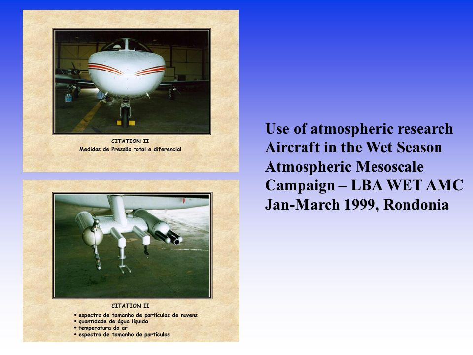 Use of atmospheric research