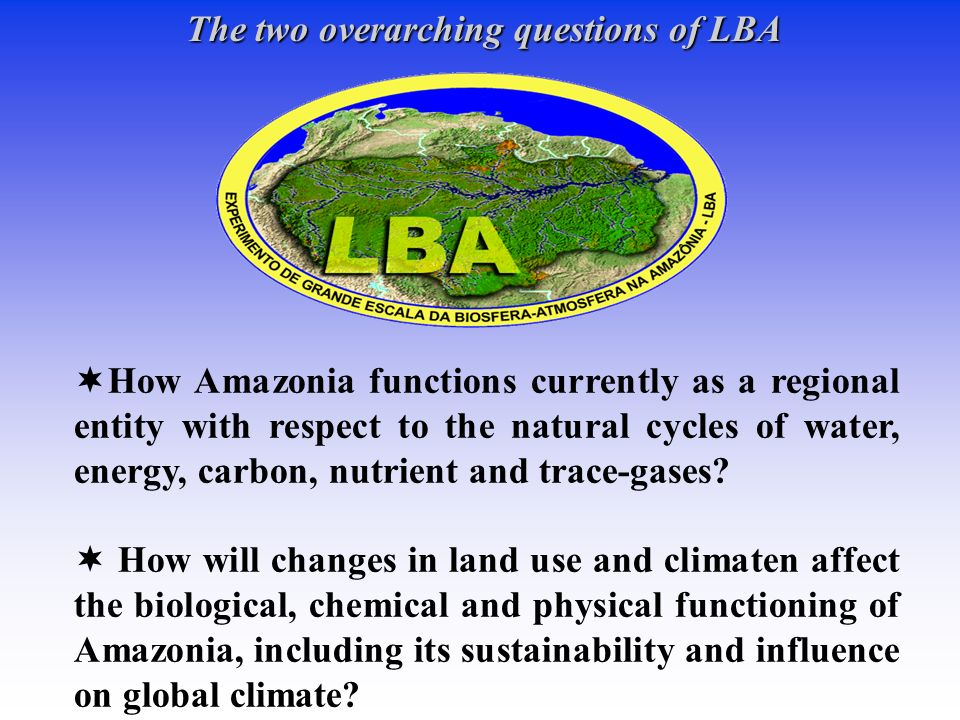 The two overarching questions of LBA