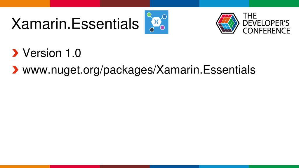 Net – Xamarin Forms - Do zero a publicação - ppt carregar