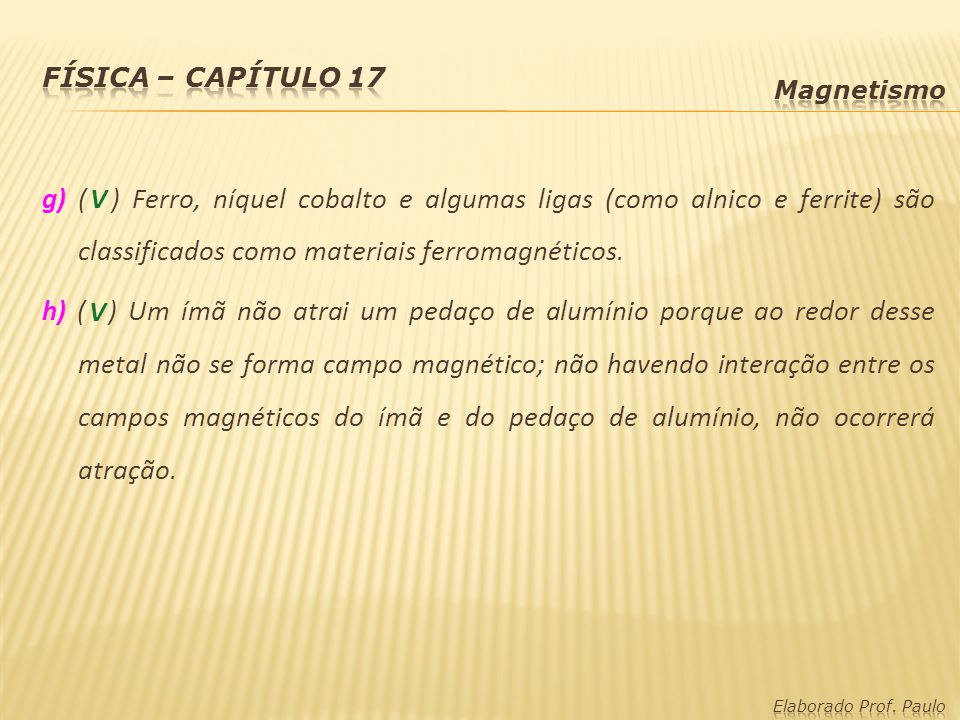 1884128e92b Física – capítulo 17 Magnetismo Ímãs  - ppt video online carregar