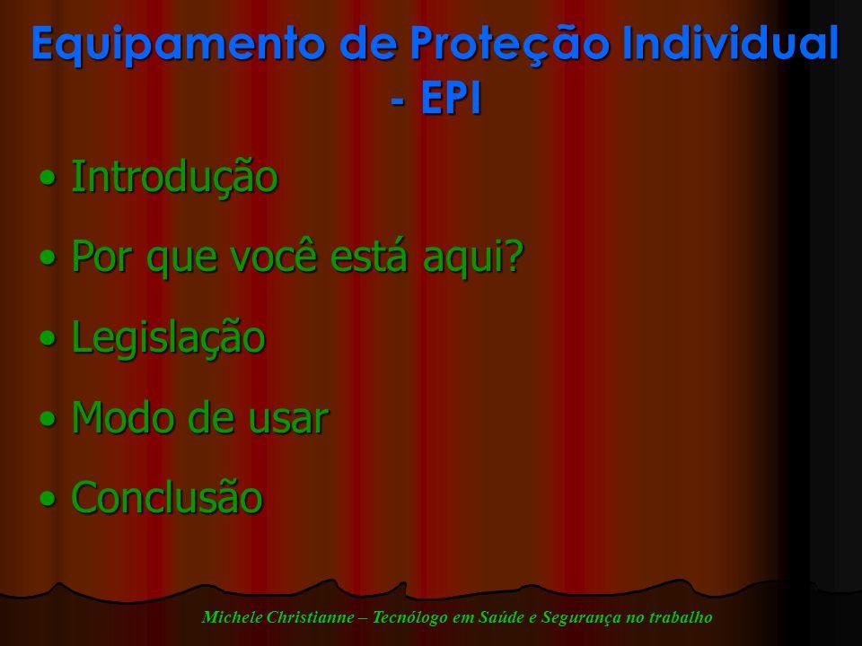 b1745cd009ed8 Equipamento de Proteção Individual - EPI - ppt carregar