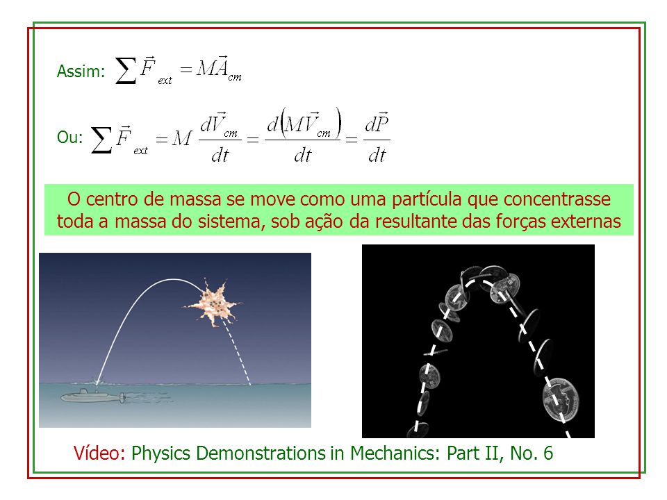 Vídeo: Physics Demonstrations in Mechanics: Part II, No. 6