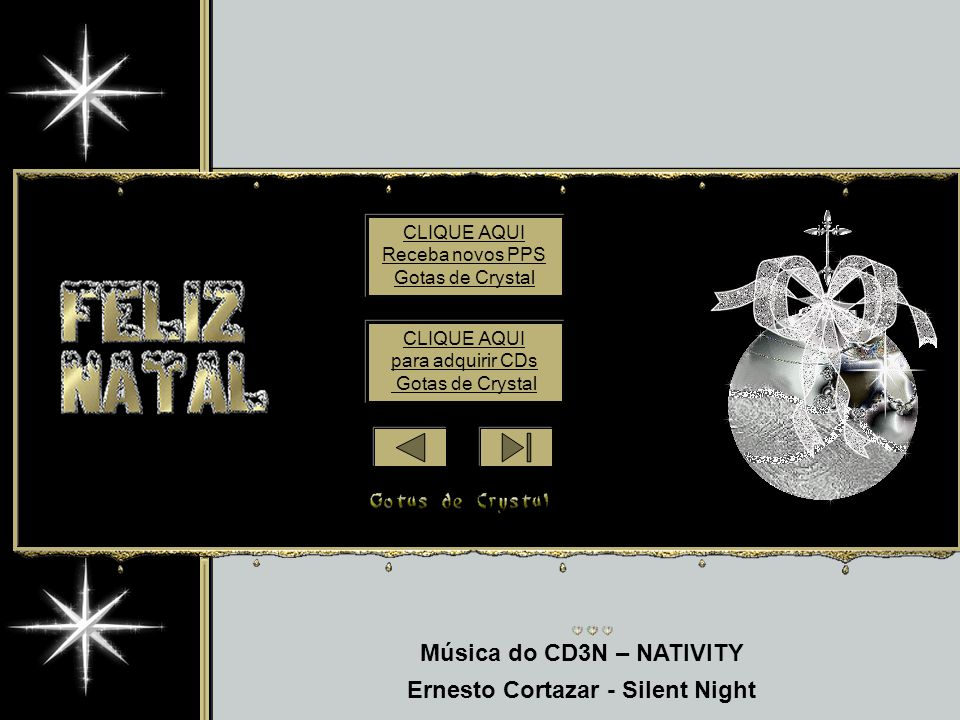 Música do CD3N – NATIVITY Ernesto Cortazar - Silent Night