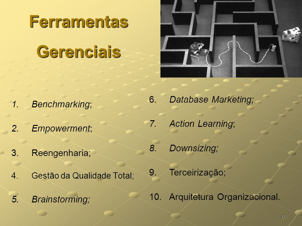 Sistemas e Métodos - Ferramentas Gerenciais - ppt carregar dd02ae3a81