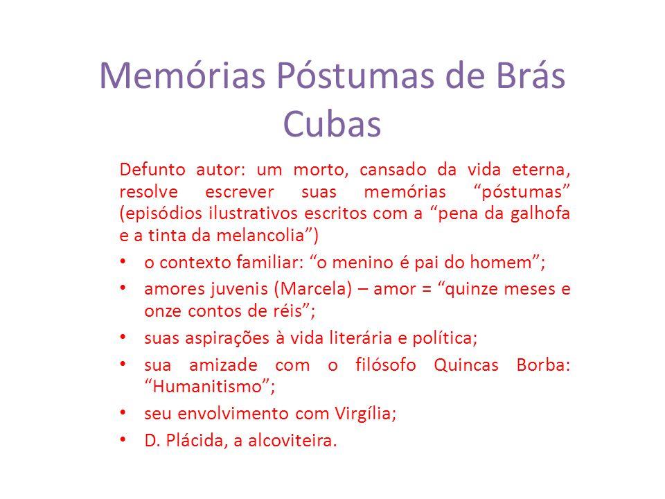 Memórias Póstumas De Brás Cubas Ppt Carregar