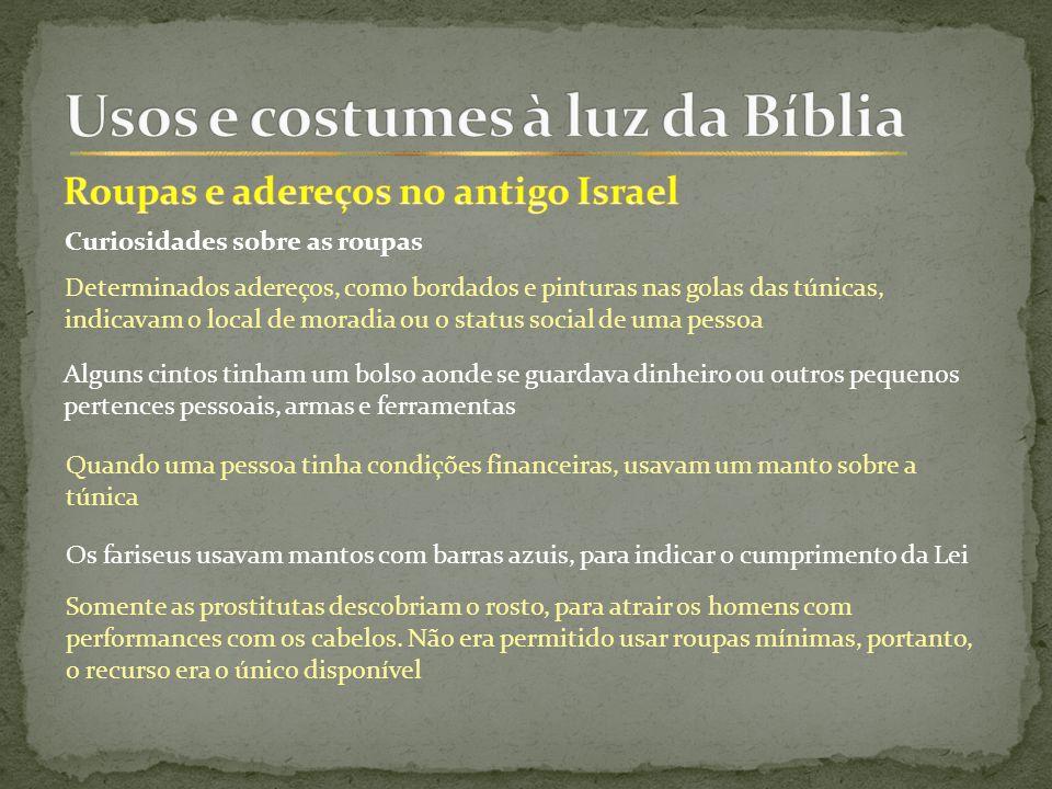 Não Ligo Para Dinheiro Status Social Curtidas Ou: Usos E Costumes à Luz Da Bíblia