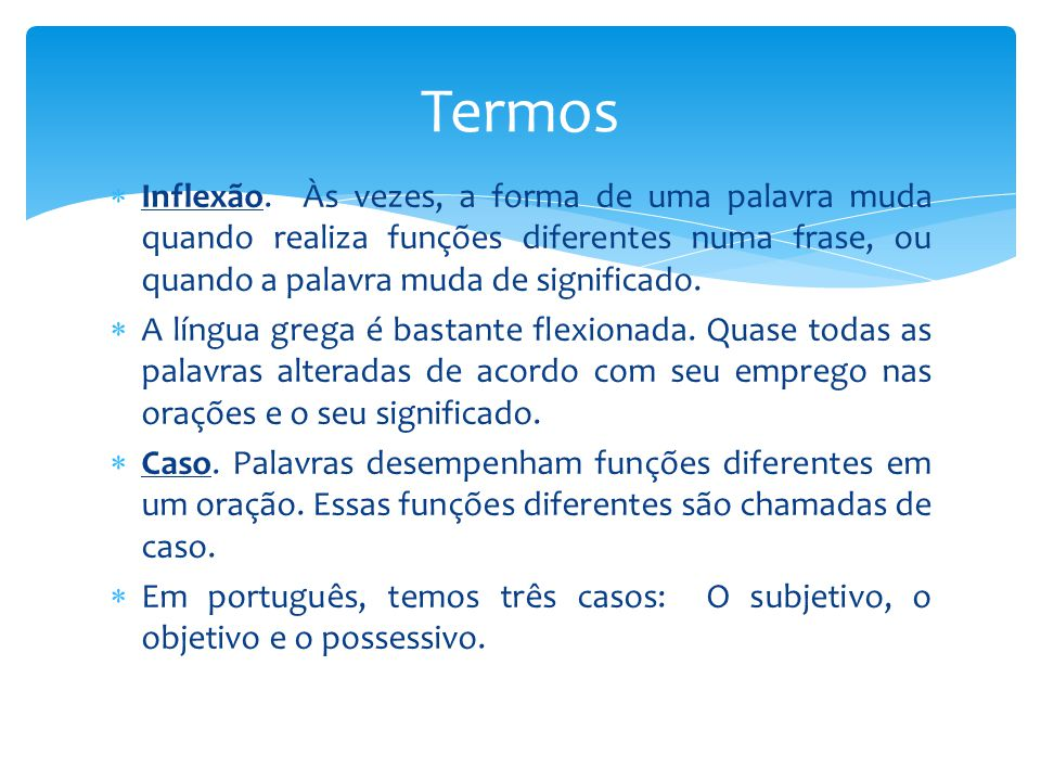 Fundamentos Do Grego Bíblico Ppt Video Online Carregar