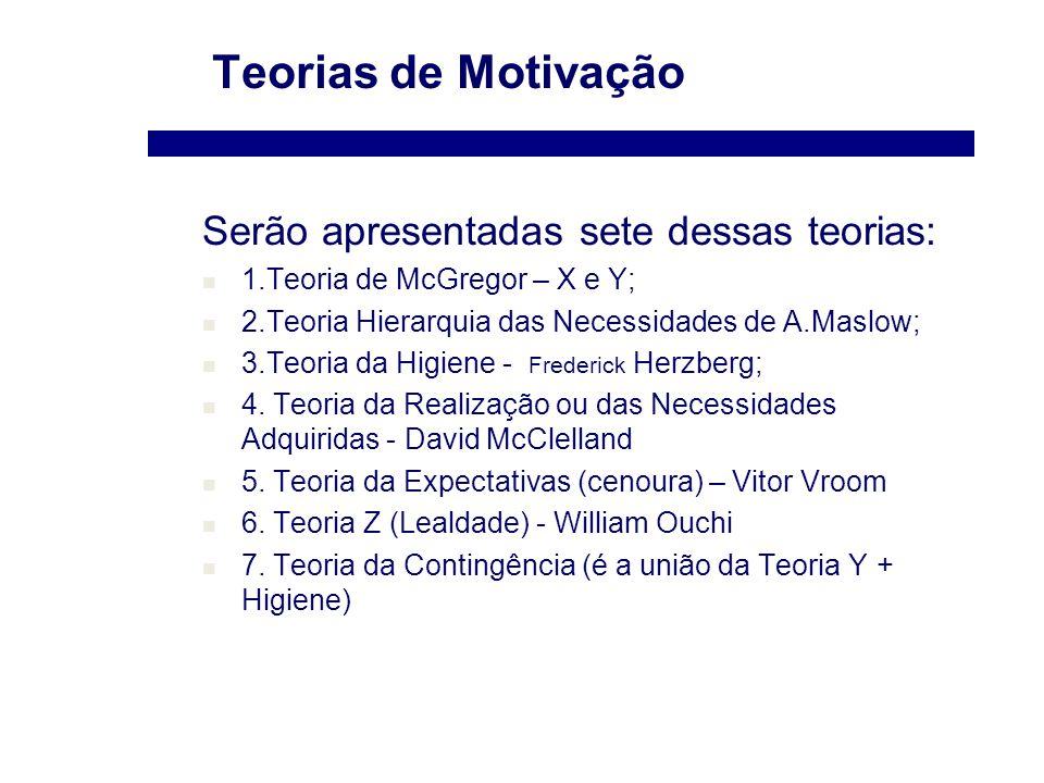 Teorias De Motivação As Teorias Motivacionais Oferecem