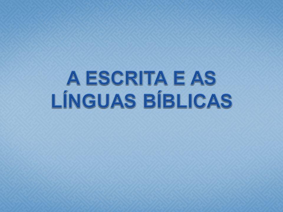 Resultado de imagem para Linguas Bíblicas