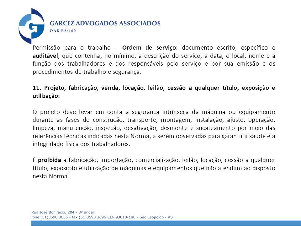 Permissão para o trabalho – Ordem de serviço  documento escrito, específico  e auditável, 638be3ff94