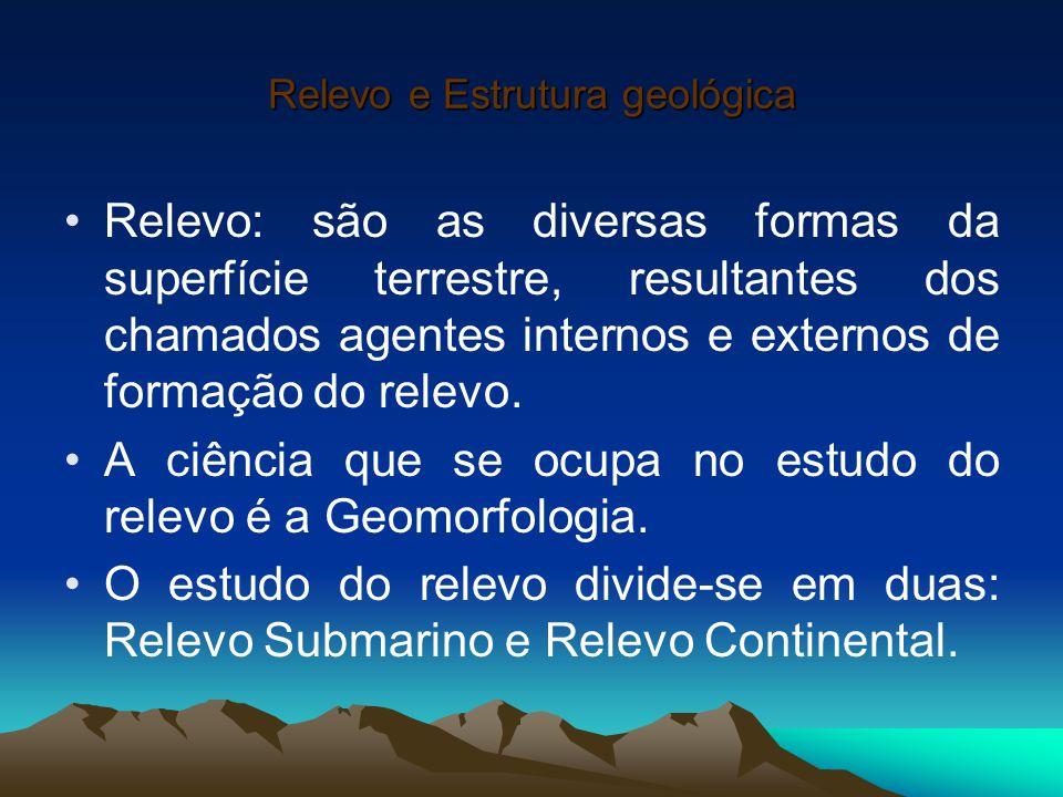 Relevo E Estrutura Geológica Ppt Carregar
