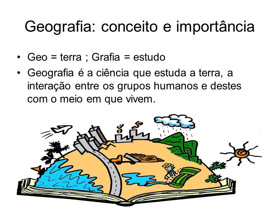 Resultado de imagem para o que a geografia estuda