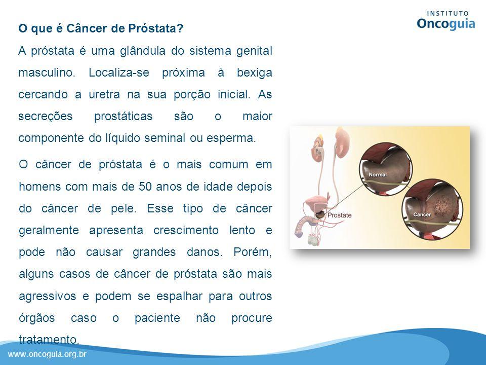 cancer de prostata resumo