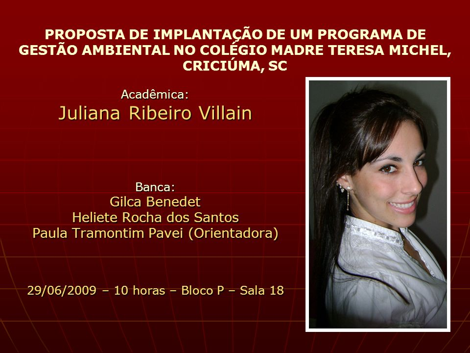 Juliana Ribeiro Villain