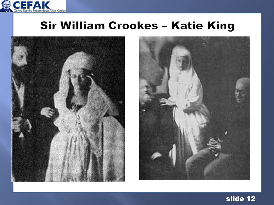Sir William Crookes – Katie King