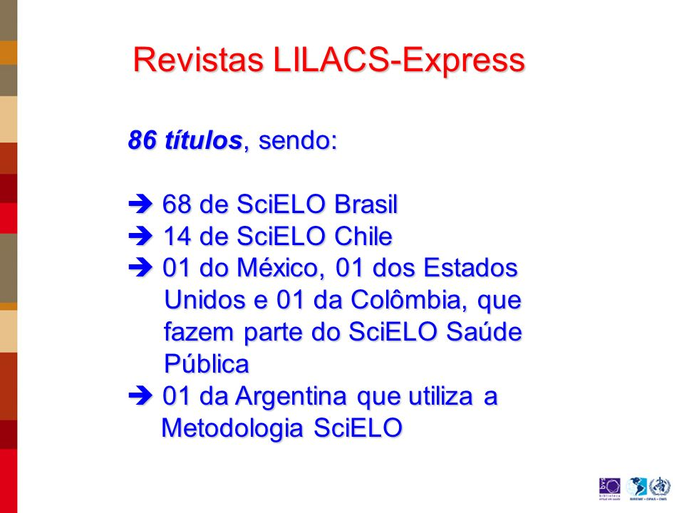 Revistas LILACS-Express