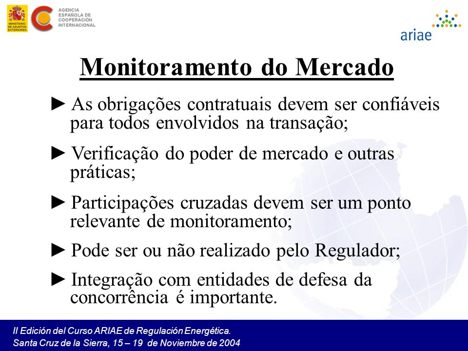Monitoramento do Mercado