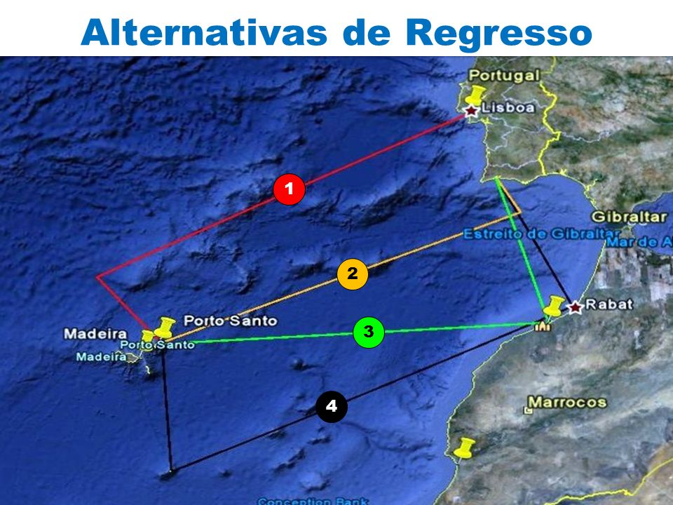 Alternativas de Regresso