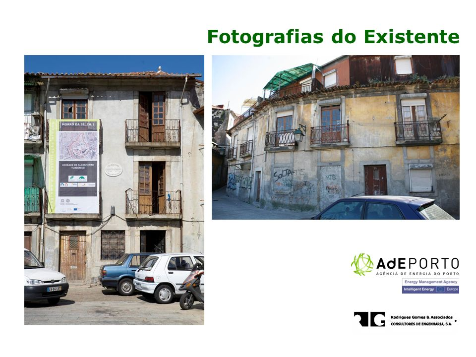 Fotografias do Existente