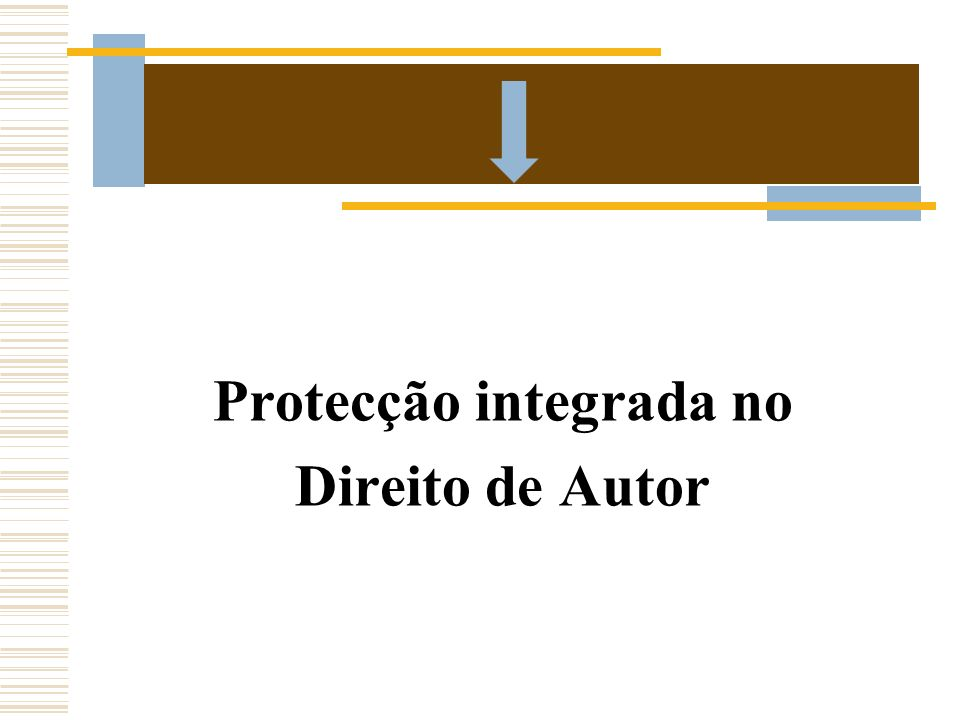Protecção integrada no