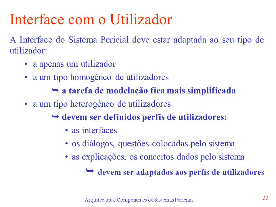 Interface com o Utilizador