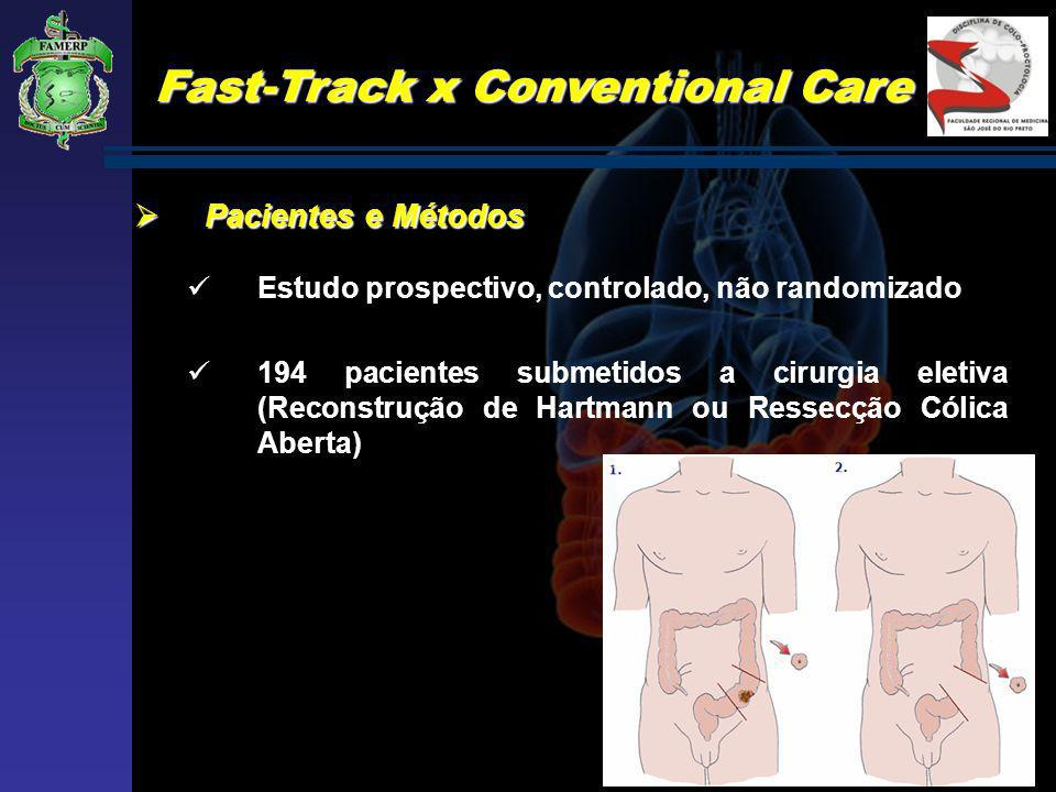 Fast-Track x Conventional Care
