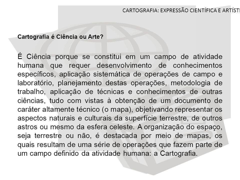 Cartografia Expressão Científica E Artística Ppt Carregar