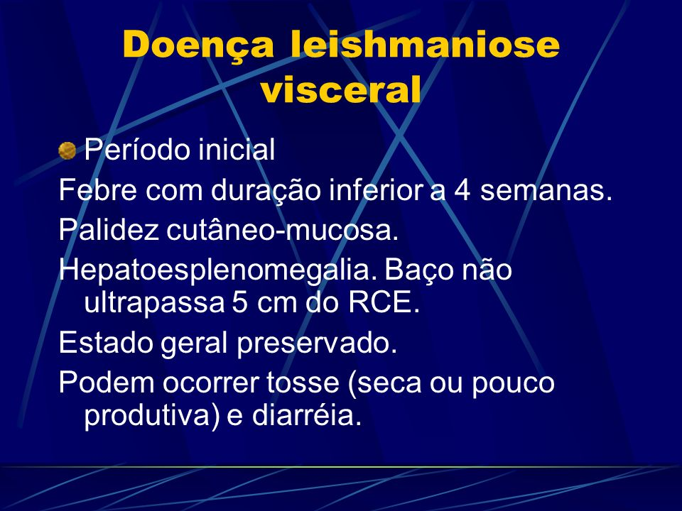 Doença leishmaniose visceral